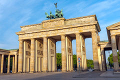 The Brandenburg Gate in Berlin Stock Images