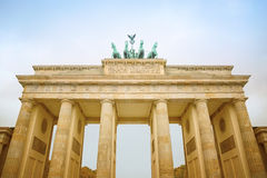 Brandenburg gate, Berlin Stock Photos