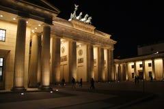 Brandenburg Gate Berlin. FEBRUARY 2012 - BERLIN: the Brandenburg Gate at the Pariser Platz in the Mitte district of Berlin stock images