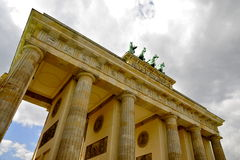Brandenburg Gate, Berlin Royalty Free Stock Photography