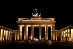 Brandenburg Gate berlin gemany Royalty Free Stock Image