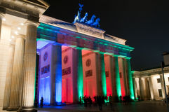 Brandenburg Gate, Berlin, Germany Royalty Free Stock Photography