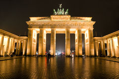 Brandenburg Gate, Berlin, Germany. stock photos