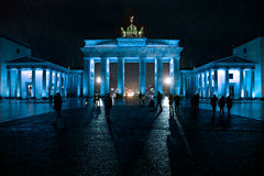 Brandenburg Gate,  Berlin, Germany. Royalty Free Stock Photo