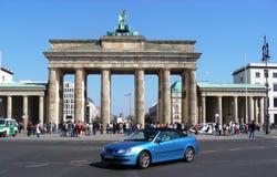 The Brandenburg Gate in Berlin, Germany stock photo