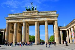 Brandenburg Gate Berlin, Germany Royalty Free Stock Photo