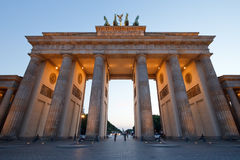 Brandenburg Gate Stock Photo