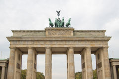 Brandenburg Gate, Berlin, Germany Stock Image