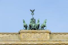 Brandenburg gate of Berlin, Germany Royalty Free Stock Photography
