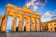Brandenburg Gate. In Berlin, Germany Royalty Free Stock Images