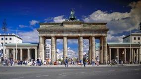 The Brandenburg Gate in Berlin, Germany. The Brandenburg Gate in Berlin in Germany Stock Photo