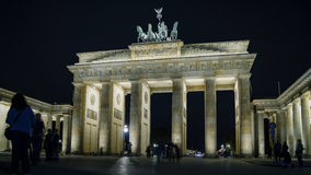 The Brandenburg Gate in Berlin, Germany. royalty free stock photos