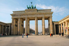 Brandenburg Gate In Berlin, Germany. Brandenburg Gate in Berlin Germany in early morning stock photography