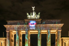 The Brandenburg Gate in Berlin at , Germany. The Brandenburg Gate in Berlin , Germany stock image