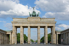 Brandenburg Gate in Berlin, Germany Stock Photos