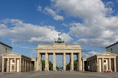 Brandenburg Gate in Berlin, Germany Stock Images