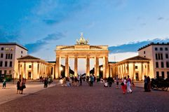 Brandenburg Gate in Berlin, Germany Royalty Free Stock Photo