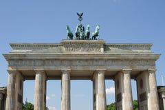 Brandenburg Gate, Berlin, Germany. Brandenburg Gate, landmark of German reunification, Berlin, Germany royalty free stock photos