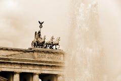The Brandenburg gate Stock Images