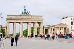 The Brandenburg gate Stock Image