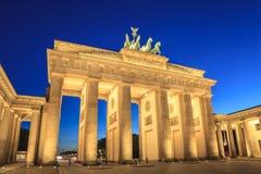Brandenburg Gate, Berlin, Germany. Brandenburg Gate at night, Berlin, Germany royalty free stock images