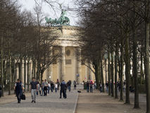 Brandenburg Gate in Berlin Royalty Free Stock Image