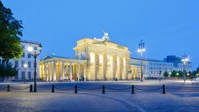 Brandenburg Gate in Berlin, Germany stock video