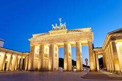 Brandenburg Gate, Berlin Germany Stock Photos