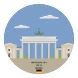 Brandenburg Gate. Berlin Royalty Free Stock Images