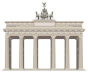 Brandenburg gate in Berlin Royalty Free Stock Photo