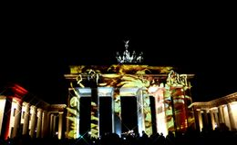 Brandenburg Gate Stock Images