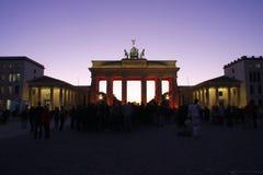 Brandenburg gate Berlin Stock Photography