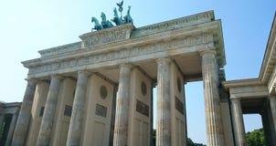 Brandenburg Gate in Berlin Stock Image