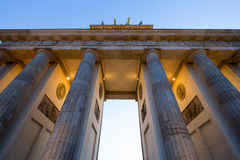 Brandenburg Gate Berlin Stock Photography