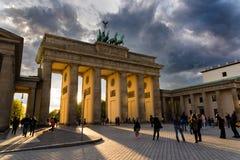 Brandenburg Gate in Berlin Royalty Free Stock Photos