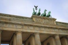 Brandenburg Gate Berlin. View of Brandenburg Gate in Berlin, Germany stock photo