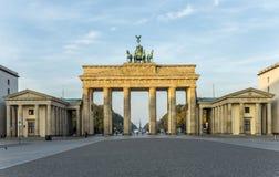 Brandenburg Gate Brandenburger Tor in Berlin Stock Photography