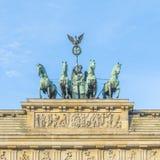 Brandenburg Gate (Brandenburger Tor) in Berlin Royalty Free Stock Image
