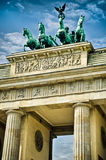 Brandenburg gate Stock Photos