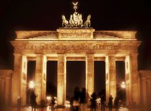 Brandenburg Gate in Royalty Free Stock Images