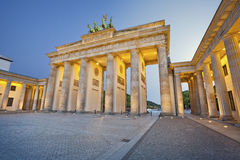 Brandenburg Gate. Stock Photo