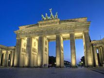 Free Brandenburg Gate In Berlin Royalty Free Stock Photography - 7662457