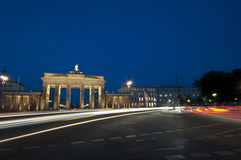 Brandenburg Gate Junction Royalty Free Stock Image