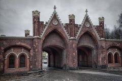 The Brandenburg gate in Kaliningrad, Russia Royalty Free Stock Photos