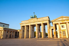 Brandenburg Gate in the morning Stock Images