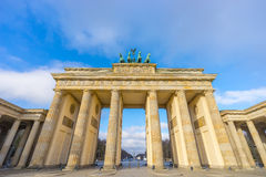 Brandenburg gate in the morning Royalty Free Stock Images