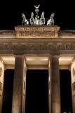 The Brandenburg Gate at Night Royalty Free Stock Image