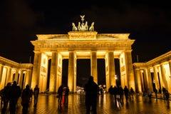 The Brandenburg Gate Stock Photography