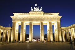 The Brandenburg Gate Stock Photo
