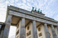 Brandenburg Gate, Pariser Platz, Berlin Stock Image